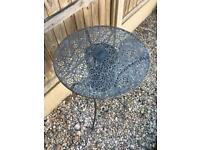 Bistro/ patio garden table