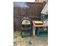 ***SOLD***Pizza Oven/ Smoker/ Bbq