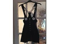 Cyber Dog black play suit size S