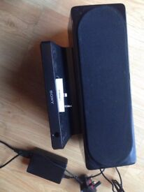 SONY Speaker Dock iphone/ipad or any other source via AUX socket VGC PC speaker SRS GU10IP
