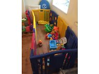 8 sided play pen
