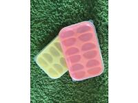 Baby food freezer trays