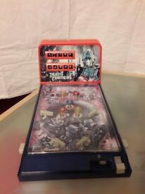 Table top kids pinball game