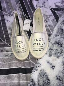Women's Size 4 Jack Wills espadrilles