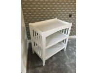 Mothercare Baby Chainging Table - White