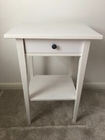SOLD. Beautiful NEW IKEA HEMNES bedside table in white. Perfect condition, never been used.