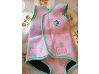 Warm in water baby wet suit 6-18months