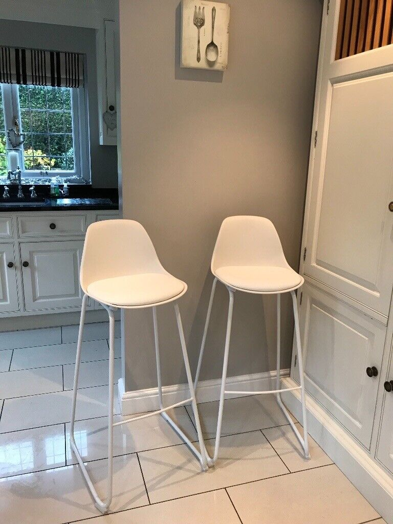 Made Duggie Bar Stools Pair In Cheadle