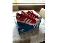 Adidas superstars (not fakes) size 10.5