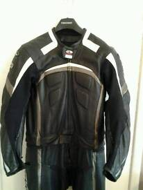 Clover 2 piece motorcycle leathers