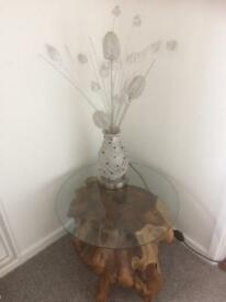 MASSIVELY reduced - slight Seconds - Tree Root Side Table