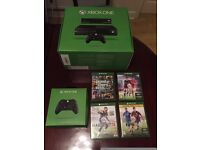 Excellent condition Xbox one console, two controllers and variety of games.