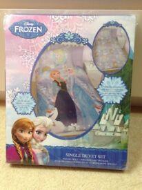 Frozen Single Duvet set- Brand NEW