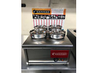 NEW CANMAC WET BAIN MARIE - 4 POTS - NEW MODEL
