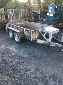Ifor Williams twin axel 8x4 trailer