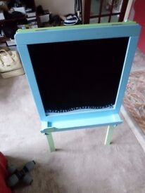 ELC Double sided white/black board