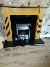 Fireplace fire surround
