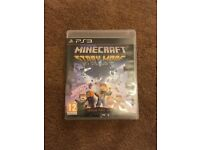 Ps3 game minecraft story mode bargain@£15