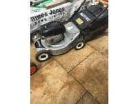 Petrol Lawnmower with grass collector push mower