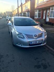 Trafford plated Toyota avensis