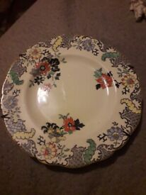 Royal Doulton ' New Chantilly ' Sandwich Plate , VGC.