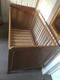Cot bed for sale! Must go asap