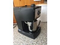 Model EC152.cd espresso & cappuccino coffee maker by Delonghi, with owner's booklet.