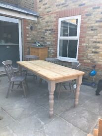 Dining Table & Chairs- perfect up-cycling project