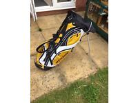 Dunlop Golf Bag with stand & strap