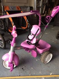 Purple Little Tikes 4-in-1 Trike. Suitable from 9 months+.