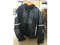 FURYGAN LEATHER MOTORCYCLE JACKET