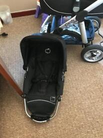 I candy with maxi cosi car seat and changing bag