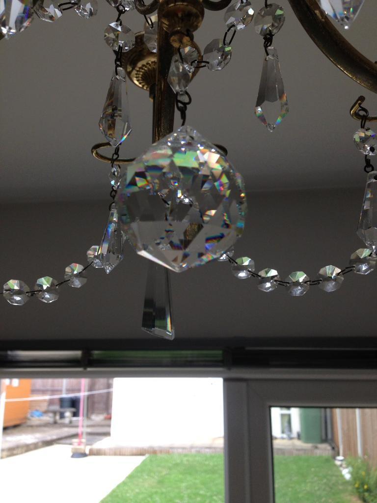 Brand-new crystal chandelier   in Greenford, London   Gumtree