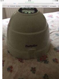 Hood hair dryer