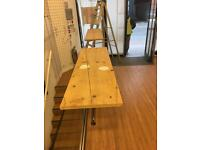 Wooden Display Trapeze