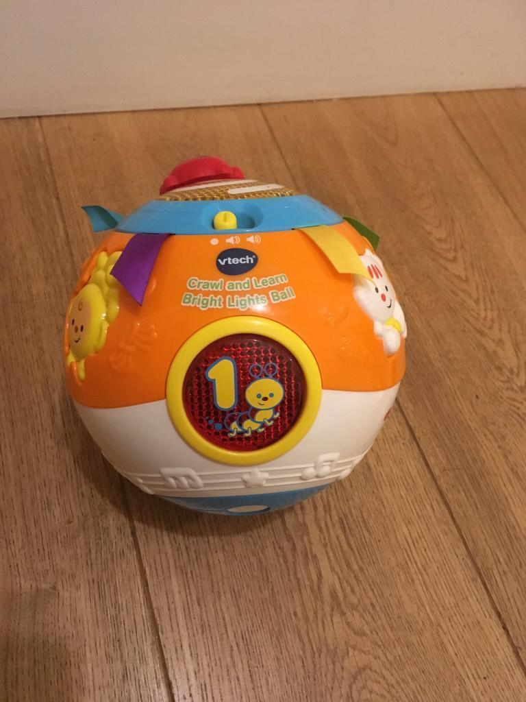 Baby toy- vtech crawl and bright lights ball.