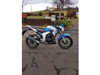 125cc Lexmoto Venom SK125-22 Motorbike 2016 model