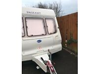 Bailey Pageant Bordeaux 2001 4 berth caravan with awning