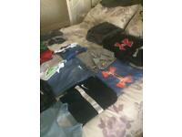 Bundle of boys clothes age 10-11 28 items in total