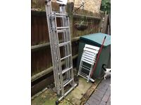 Abru 4-way combination ladder