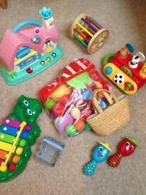 Various toys suitable for 12-24months