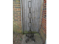 Heavy Industrial Looking Iron Lamp Stand 25kg,152cm High-Upcycle-Furniture-Collect