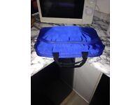 Blue dell laptop