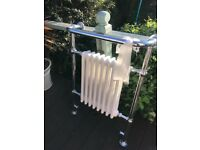 Traditional Victorian towel rail bathroom radiator