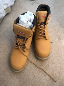 Tuf Steel Cap Safety Boots