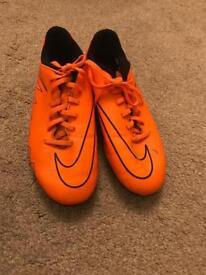 Nike Hypervenom Phelon II FG - Total Orange/ Black (Size 4)
