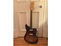 Fender Japanese Jaguar Sunburst used