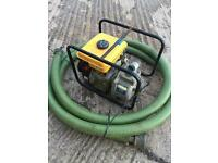 Suzuki Petrol Water Pump. Full working order. Can deliver