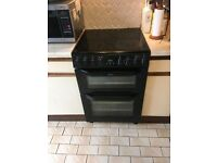 belling double oven electric cooker 60cm freestanding. All works fine.