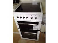 Free standing white Electric Cooker - Flavel Milano E50